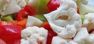 trojfarebná zelenina