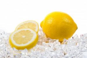 na mrazenie ovocia používame citrón alebo kys. citrónovu