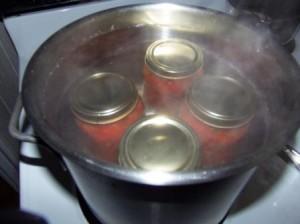 sterilizácia kompótov