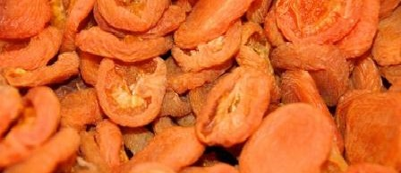 sušenie zeleniny si vyžaduje predprípravu