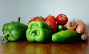 nakladaná miešaná zelenina - používame do nej iba zdravé plody