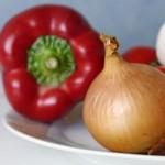 Nakladaná miešaná drobná zelenina v kyslom náleve
