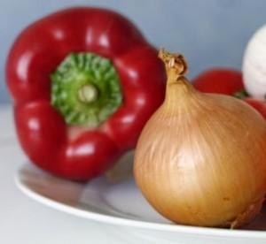 zelenina v kysom náleve - môžeme použiť mix rôznych druhov