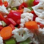 miešaná zelenina