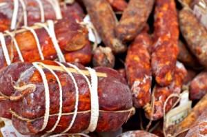zavárané údené mäso